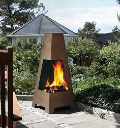 Tuff, enkel att använda och underhållsfri utomhuskamin. Ingen uteplats utan eldstad  Hareide Design har utvecklat Jötul Terazza. Det gör den till en utomhuskamin som du gärna vill visa. Som kan ingå i en helhet med stiliga utemöbler och genomtänkt trädgårdsdesign. Den strålar på en läcker terrass eller i en fin trädgård. Kaminen är tillverkad …