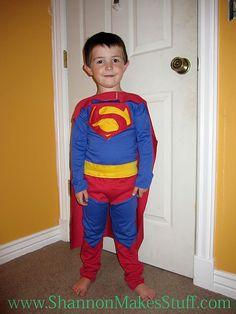 Superman Costume Tutorial