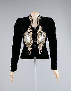 Evening jacket | Elsa Schiaparelli (Italian, 1890-1973) | France, Autumn/Winter 1938-1939
