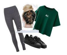 """Sport⚽️3"" by lenaleblanc on Polyvore featuring mode, Mint Velvet et adidas"