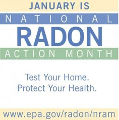 January Is National Radon Action Month. | middletownmedical.com