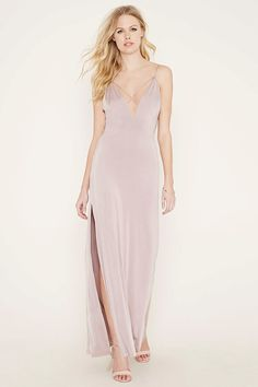 Crisscross-Front Maxi Dress | Forever 21 - 2000204400