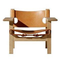 Den spanske stol – stærk og rustik design Børge Mogensen.