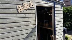 Batcave raw on shed