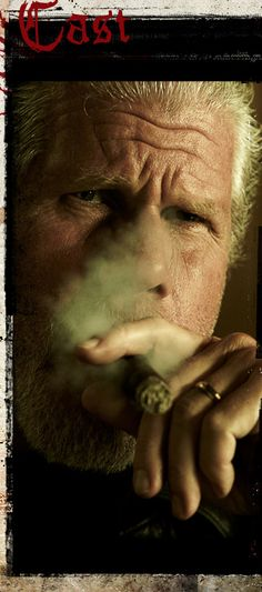 "S O A - Sometimes I call Dwight ""Clay"" when he lights up a cigar. Some thing about the ole guy that I really like!"