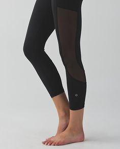 NWT Lululemon Just Breathe Pant Black Mesh SOLD OUT Size 6 ...