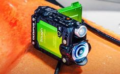 Extreme sports enthusiasts will love the new #Olympus_STYLUS_TG_Tracker, which Is an action camera with the capacity of recording… #Gadgets