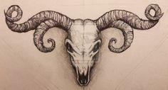 goat skull - Поиск в Google