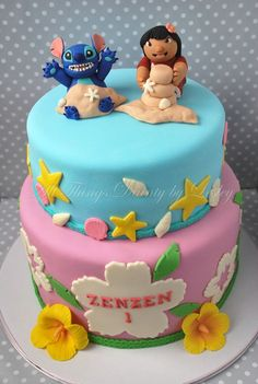 Lilo and Stitch Cake. Its my favorite move!