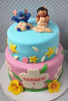 Lilo and Stitch Cake. Its my favorite move!