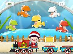 Magikid Train Kinderapps iPad iPhone