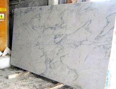White macaubas quartzite for kitchen and bathroom for Carrara marble slab remnants