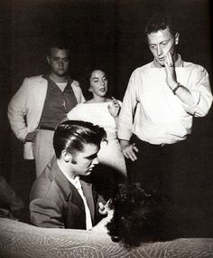 http://BlueChipMoney.com - Elvis Presley - #Elvis sees to a fan who has apparently fainted  (1950s)