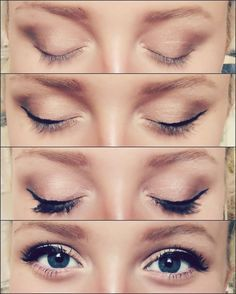 eyeshadow application for large eyelids - Google Search
