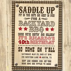 143 best western invitations images cowboy birthday cowgirl party