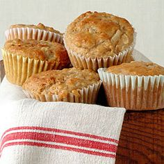 Healthy Muffin Recipes | Pear and Walnut Muffins | CookingLight.com
