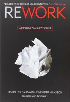 """A rebellious business book. Totally awesome. // """"Draw a line in the sand. As you get going, keep in mind why you're doing what you're doing. Great businesses have a point of view. You need to have a backbone. You need to know what you're willing to fight for. And then you need to show the world."""""""