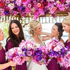 .@Rachel A. Clingen Wedding & Event Design   Love our bride Shauna's, colorful palette! #weddingdecor #tabooresort #weddin...   Webstagram