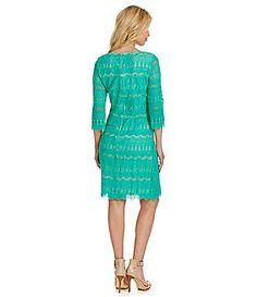 c9dc72964dd Jessica Howard Lace Shift Dress  Dillards Metallic Cocktail Dresses