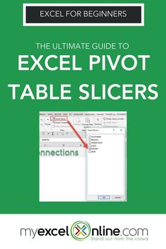 If you liked all the cool Slicer tips I shared in this blog post, then you will love my free Excel Pivot Table webinar where I show you more cool Slicer tricks, as well as various Pivot Table features like: Grouping, Year To Data Analysis, Variance Analysis and I will also show you how to create an interactive Excel Dashboard! Click to learn all these cool features that will make you stand out from the crowd. #exceltips #MSExcel #ExcelForBeginners | Excel For Beginners Tips + Tutorials