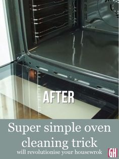 This is how Good Housekeeping cleans an oven. and it works! This simple oven-cleaning trick will revolutionise your housework. All you need is three kitchen cupboard staples to make your oven grease and grime disappear.