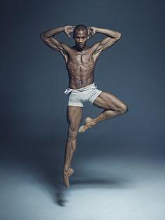 Eric Underwood, soliste du Royal Ballet