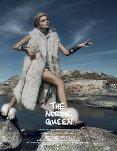 The Nordic Queen (Vogue Japan)