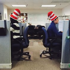 """Today you are You, that is truer than true. There is no one alive who is Youer than You."" Happy Dr. Seuss Day!"