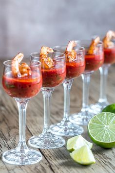 Delight your guests this Christmas with some exciting canapés- including this delicious twist on a Bloody Mary 🤩 … Full Prawn Cocktail, How To Cook Shrimp, Canapes, Bloody Mary, Appetizers For Party, Perfect Party, Cooking Tips, Entrees, Food To Make