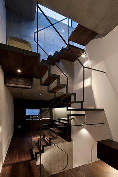 Casa Lattice en Tokio, un proyecto de Apollo Architects & Associates