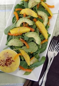 31 recetas de ensaladas & aderezos/vinagretas {1 para cada día del mes}