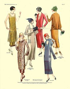 1925 Delineator Magazine (Butterick)   PetitPoulailler | Flickr