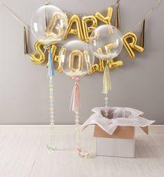 baby shower confetti balloon by bubblegum balloons | notonthehighstreet.com