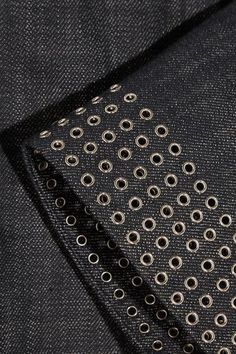 Dark-blue denim Concealed hook and zip fastening at front 100% cotton Dry cleanSmall to size. See Size & Fit notes.