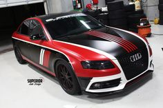 2012 AUDI S4 MOTORSPORT RACE CAR WRAP NUROTAG READY BROWARD MIAMI WEST PALM BEACH CORAL SPRINGS PARKLAND BOCA RATON POMPANO BEACH AVENTURA HOLLYWOOD WESTON