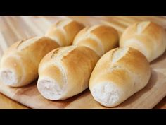 Bread Recipes, Cooking Recipes, How To Make Bread, Desert Recipes, Hot Dog Buns, Breakfast Recipes, Food And Drink, Baking, Sweet