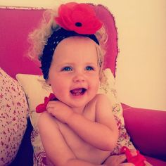 Ruby, Flower, baby, smile, life, daughter