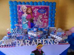 Frozen birthday Party, festa aniversário Frozen