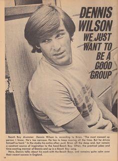 Dennis Wilson - ladyhicks82:   Hit Parader, June 1967-The Beach...
