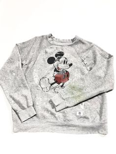 U.S ALTERATION CREWNECK GRAY
