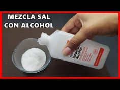 Mezcla sal con alcohol de esta forma pocos saben este truco - YouTube House Cleaning Tips, Cleaning Hacks, Breeze Block Wall, Alcohol, Grill Design, Natural Shampoo, Natural Home Remedies, Cleaning Solutions, Home Hacks