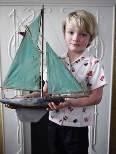 Rachel Riley Flag Print Shirt, build a boat/ship