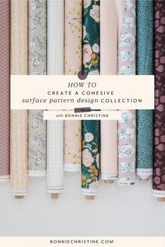 Create Cohesive Surface Pattern Design Collections