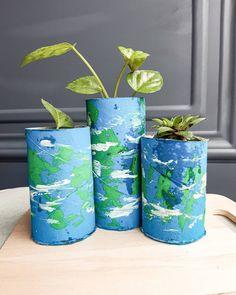 Happy Earth Day craft Earth Day Crafts, Happy Earth, Activities For Kids, Planter Pots, Vase, Home Decor, Decoration Home, Room Decor, Children Activities