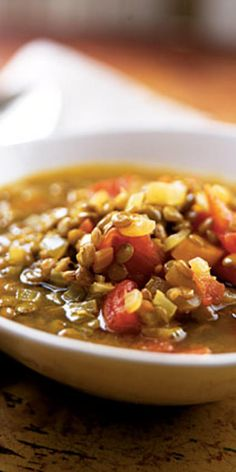 Gingery Lentil Soup