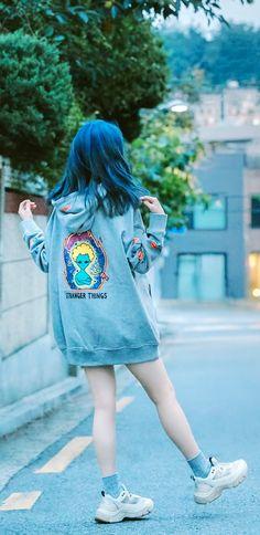 IUmushimushi on - Pretty Korean Girls, Cute Korean, Iu Fashion, Korean Fashion, Fashion Outfits, Album Design, Korean Outfits, Ulzzang Girl, Korean Beauty