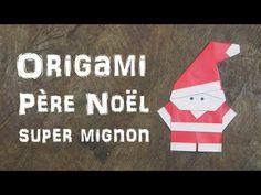 Origami Père Noël facile et super mignon !