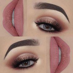 Schritt für Schritt Make-up - Makeup Tips For Older Women Makeup Eye Looks, Smokey Eye Makeup, Cute Makeup, Pretty Makeup, Skin Makeup, Eyeshadow Makeup, Eyeliner, Glitter Eye Makeup, Prom Makeup