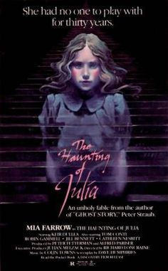 The Haunting of Julia (1977), starring Mia Farrow.  Hands down, the best ghost movie I've ever seen.  Amazing score by Colin Towns.  Based on book by Peter Straub.
