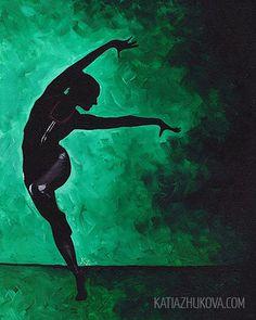 Original Painting on Canvas 'Sofia' 16x20  $350, via Etsy (by Katia Zhukova)